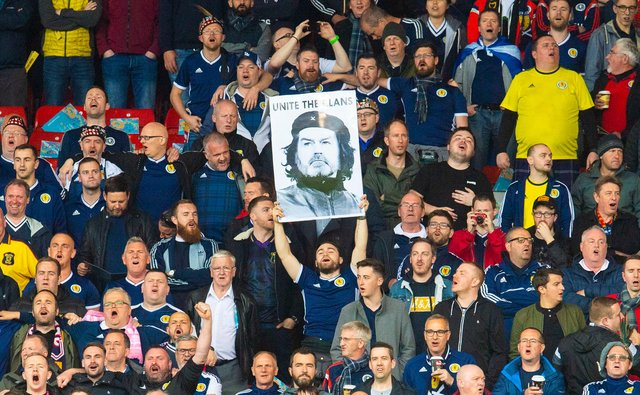 Scotland fans will be hoping Steve Clarke can lead the country to success. Picture: SNS