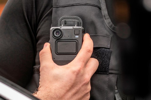 Edesix's body-worn cameras are used to record interactions between police officers and the public.