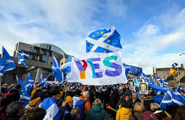 A new poll has found support for independence in Scotland has dropped.