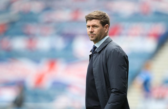 Steven Gerrard has been named as the William Hill Manager of the Year by the Scottish Football Writers' Association after leading Rangers to their first top flight league title in a decade. (Photo by Ian MacNicol/Getty Images)