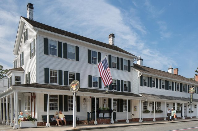 The Griswold Inn is one of the oldest continuously operated inns in the US, debuting in 1776. Picture: Caryn Davis.