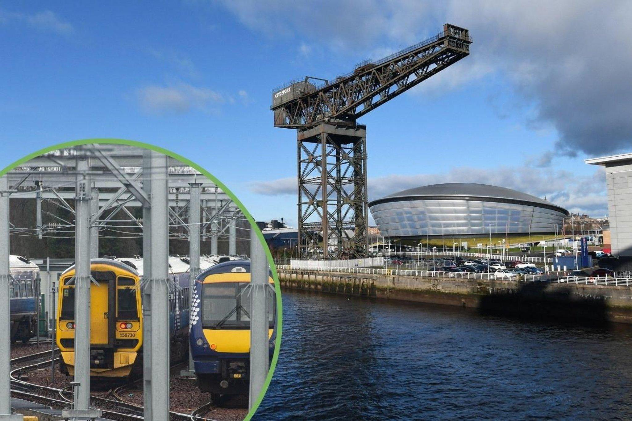 Cop26: Aktivis muda dan pembuat kebijakan bepergian dengan kereta api Rail ke COP ke konferensi iklim di Glasgow