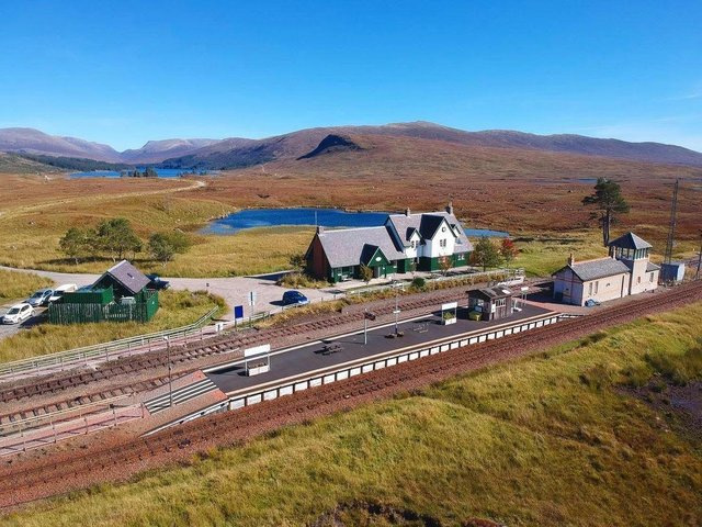 Corrour Station House, found near Fort William, is Scotland's most remote railway station and is looking for a new chef for the summer season.