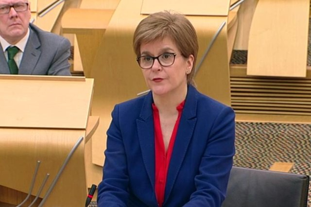 Nicola Sturgeon's ratings and support for the SNP have fallen since Alex Salmond gave evidence to MSPs