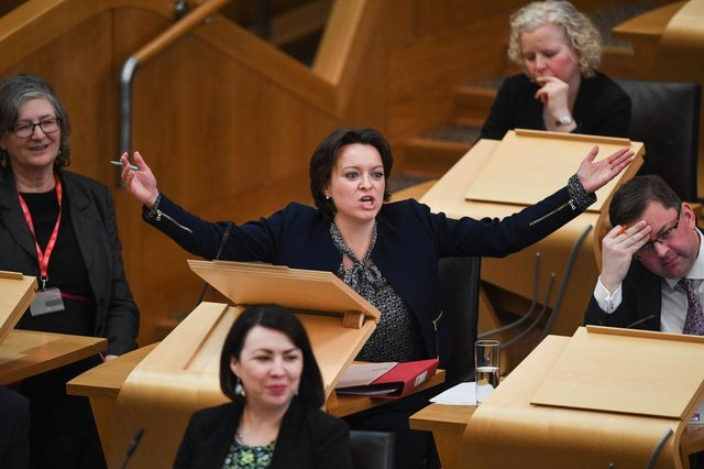 Labour MSP for the North East Jenny Marra. Picture: Jeff J Mitchell/Getty Images
