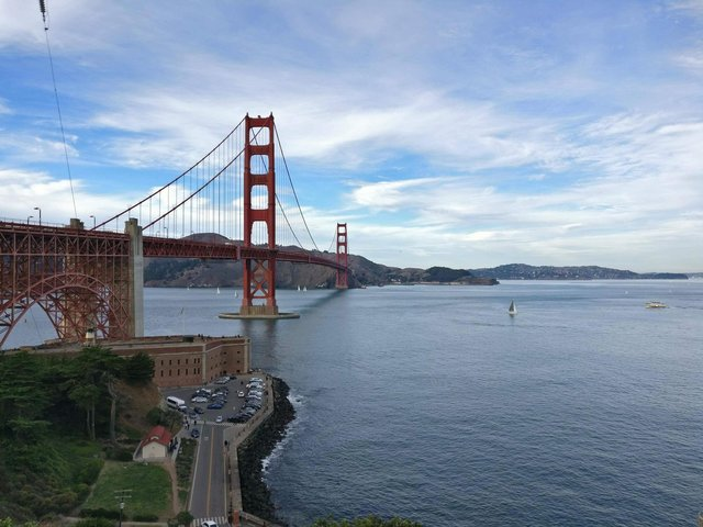 The Golden Gate Bridge in San Francisco, home to Silicon Valley