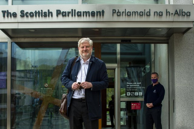 Angus Robertson was appointed Scottish culture secretary by First Minister Nicola Sturgeon last month.