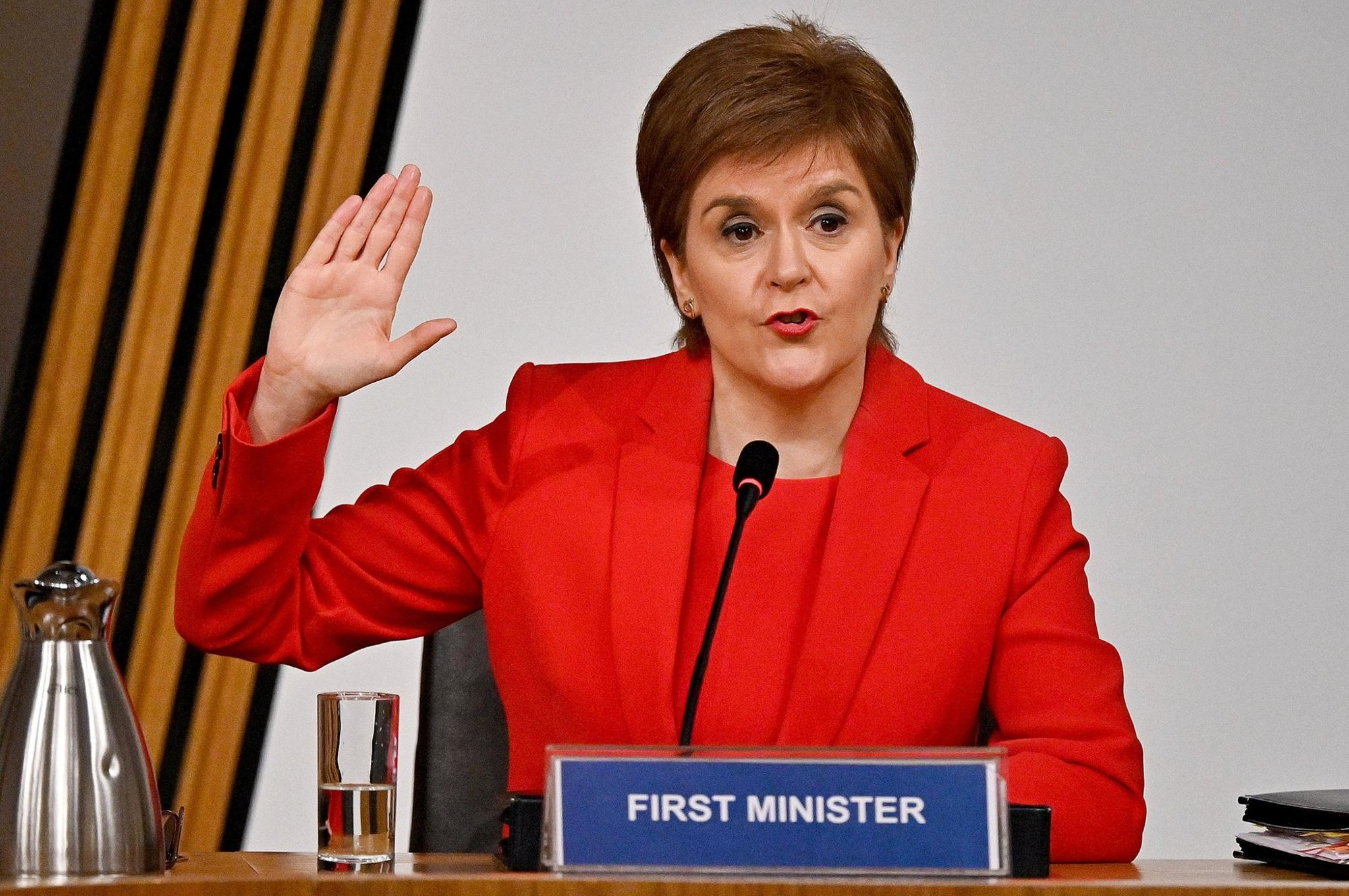 Alex Salmond inquiry: Nicola Sturgeon apologises and recalls 'the moment I'll never forget'