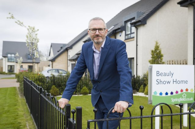 Innes Smith is the chief executive of Springfield Properties, which is Scotland's only listed housebuilder.