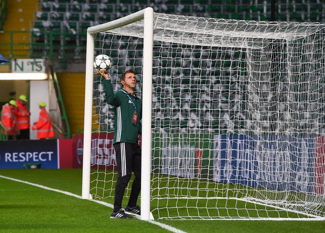 Goal-line technology will be used in an SPFL competition for the first time in the Betfred Cup semi-finals. Picture: SNS