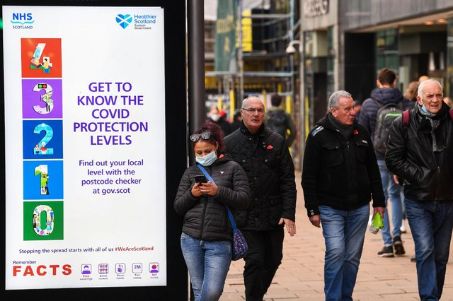 It is hoped that mainland Scotland will move from Level 4 to Level 3 at the end of April (Getty Images)