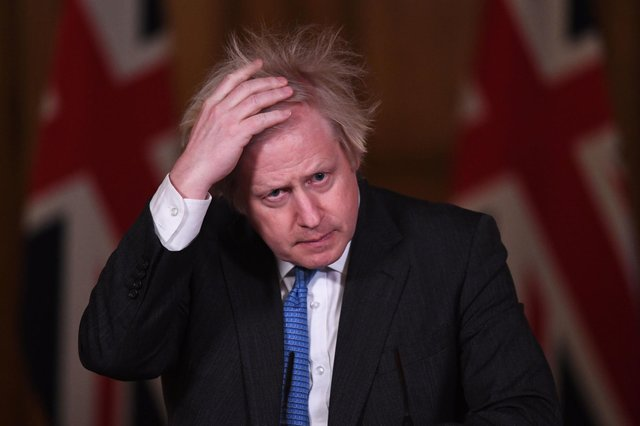 Boris Johnson may be forced to allow a second referendum on Scottish independence if the SNP wins the Scottish Parliament elections in May. Picture: Stefan Rousseau/PA Wire