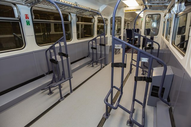 The new ScotRail Highland Explorer service has specially adapted carriages that can carry 20 bikes  (Picture: ScotRail/PA)