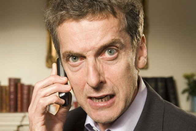 Malcolm Tucker (Peter Capaldi) would surely be appalled that BBC4, where The Thick of It began, is to stop making programmes (Mike Hogan/BBC)