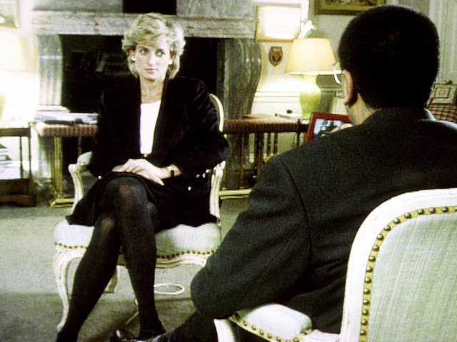 The scandal relates to an interview with Princess Diana in 1995