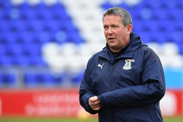 Billy Dodds has been named new Inverness Caledonian Thistle manager. (Photo by Ross Parker / SNS Group)