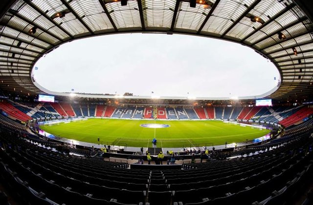 Hampden will host the final between Hibs and St Johnstone. (Photo by Craig Williamson / SNS Group)