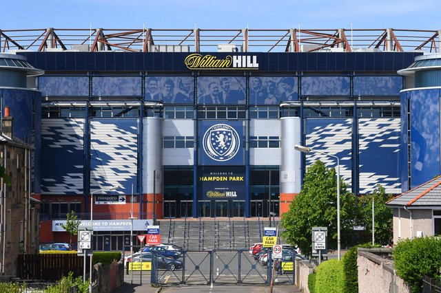 The Scottish FA based at Hampden has been the latest to criticise the plans. Picture: John Devlin