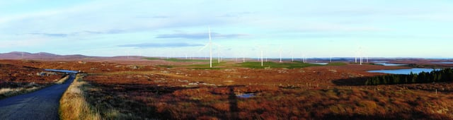 Proposed Wind farm on Lewis