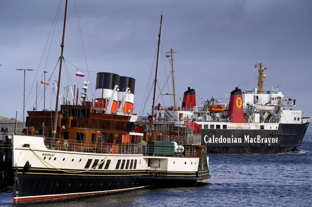 The cost of repairs from the Brodick pier collision will be paid by insurance. Picture: Jeff J Mitchell/Getty Images