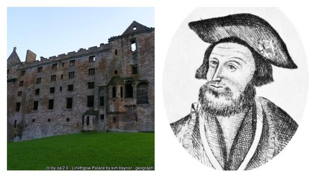 A handwritten fragment of a poem by Sir David Lyndsay, who sat at the heart of court life at Linlithgow Palace during the life of James V, has been discovered. (Picture: Kim Traynor/geograph.org/CC)