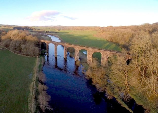 Riddings Viaduct over the Liddel Water near the anomaly site. Picture: Kevin McCartney