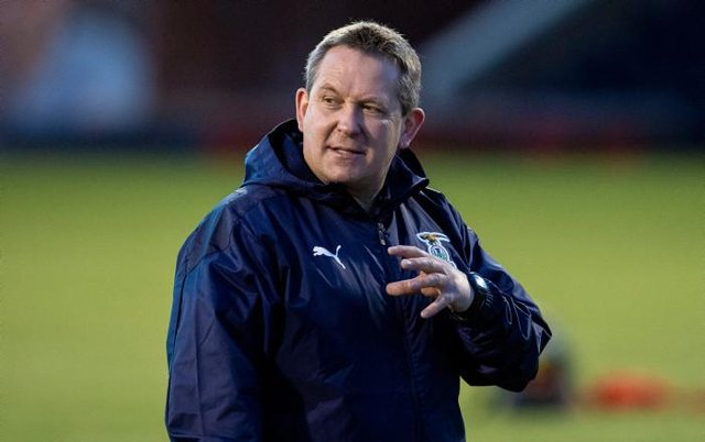 Inverness coach Billy Dodds was speaking to Sky Sports. (Photo by Ross MacDonald / SNS Group)
