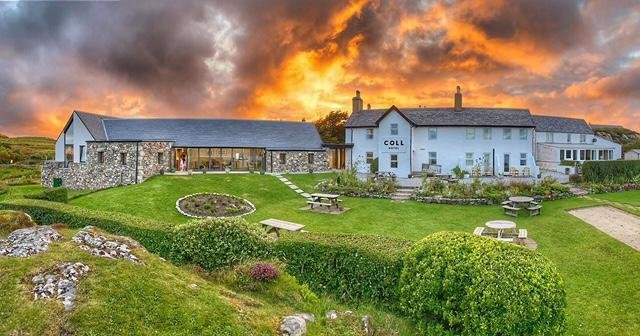 The Coll Hotel was named joint winner in the Independent Hotel category in the Catering Scotland (CIS) Awards alongside the five-star Glenapp Castle in South Ayrshire.