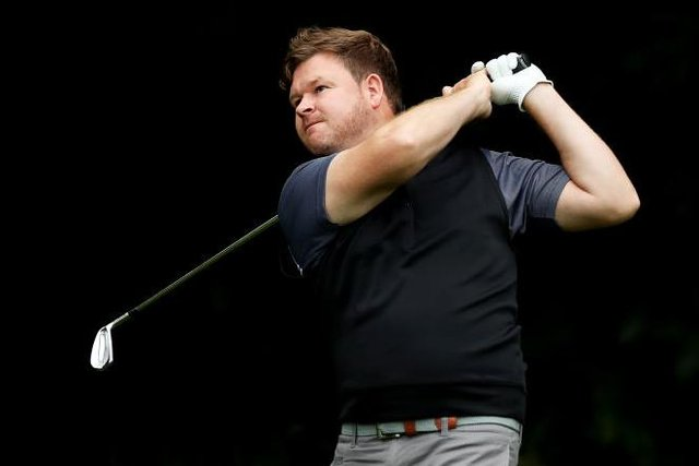 Paul O'Hara made a strong start in the PGA Professional Championship at Blairgowrie. Picture: Naomi Baker/Getty Images.