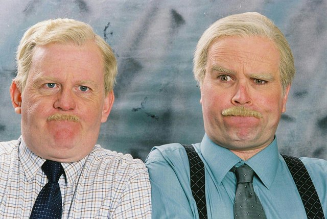 Still Game characters Jack and Victor regularly use Scottish slang (BBC)