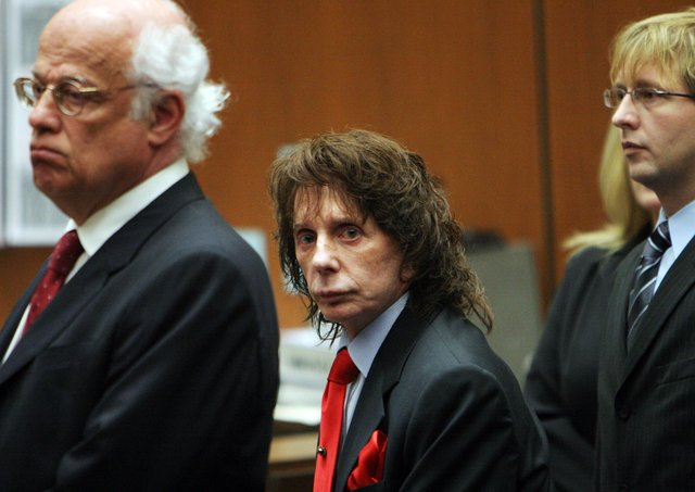 Spector was sentenced to 19 years to life in prison in 2009 for the murder of Lana Clarkson (Getty Images)