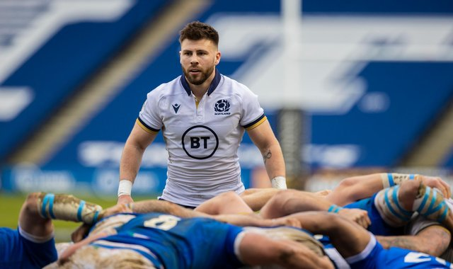 Ali Price impressed for Scotland during the Guinness Six Nations and could be in Warren Gatland's thoughts. Picture: Craig Williamson/SNS