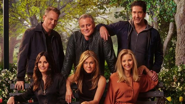 The Friends cast reunited for a one-off unscripted special. Photo: WarnerMedia