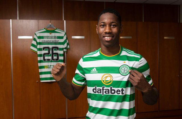 Osaze Urhoghide has signed a four-year deal with Celtic. (Photo by Craig Foy / SNS Group)
