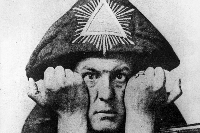 English writer and occultist Aleister Crowley - not a great role model for kids