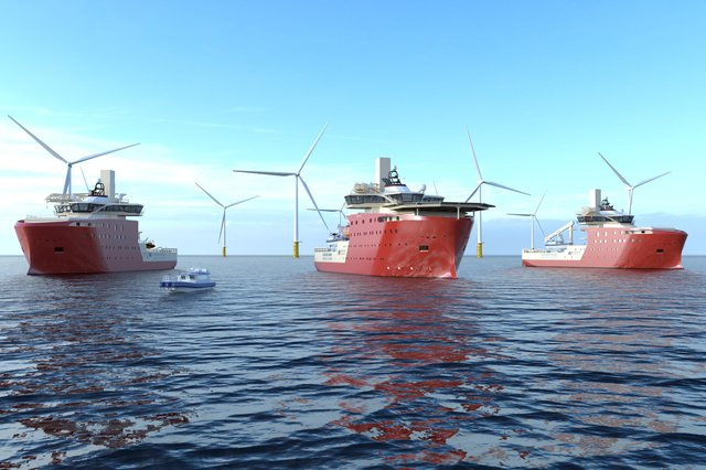 Aberdeen's North Star Renewables is to design and deliver a service vessel fleet for Dogger Bank Wind Farm.