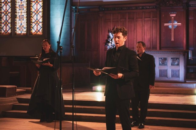 The Dunedin Consort performing How Lonely Sits the City in Greyfriars Kirk, Edinburgh PIC: Arms & Legs productions