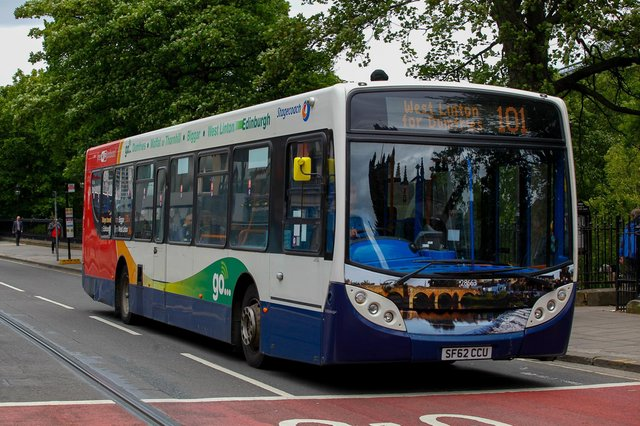 Perth-headquartered Stagecoach has grown over the past 40 years to become one of the biggest bus operators in the UK. Picture: Scott Louden