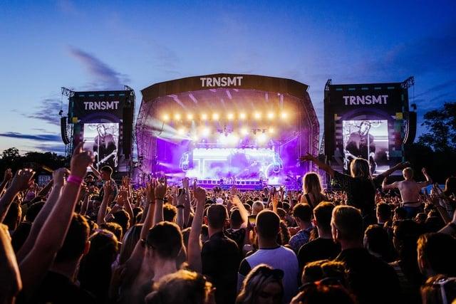 TRNSMT is Scotland's biggest live music festival. Picture: Gaelle Beri