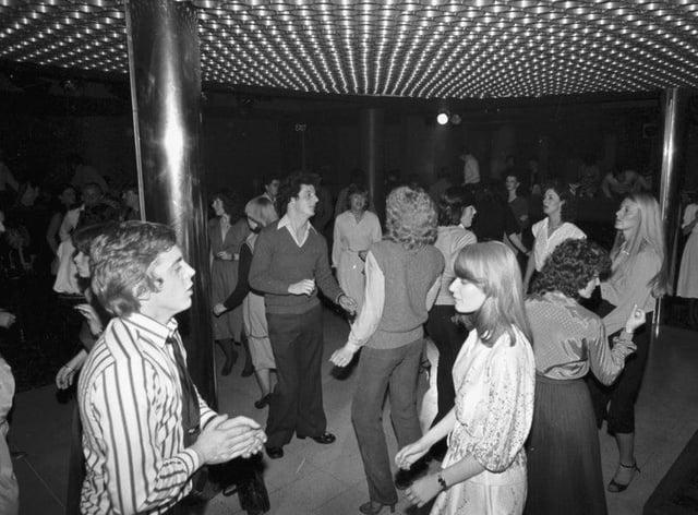 Buster Brown's nightclub in Edinburgh in 1979