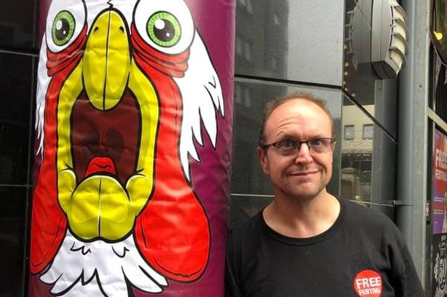 Free Festival founder Alex Petty says he has performers 'raring to go at short notice' if it is safe to put on shows.