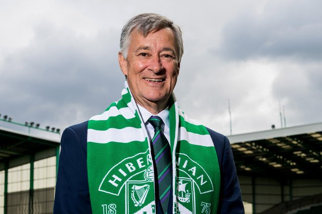 Hibs chairman Ron Gordon is looking forward to Saturday's Scottish Cup final.