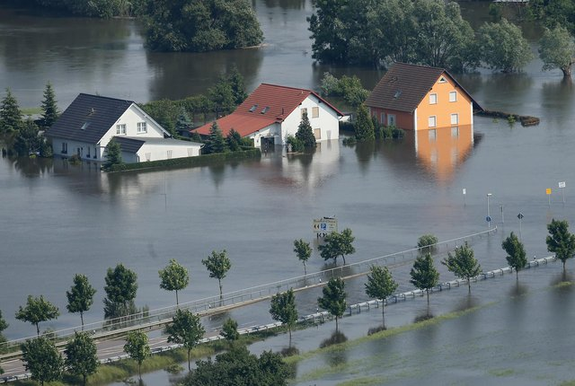 The devastating and deadly floods in Western Europe point to the shape of things to come (Picture: Sean Gallup/Getty Images)