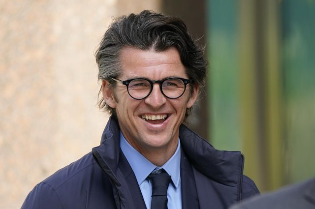 Joey Barton arriving at Sheffield Crown Court where he is charged with causing actual bodily harm to the then Barnsley manager Daniel Stendel in April 2019.