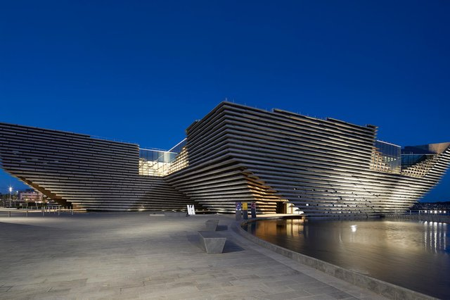 V&A Dundee was designed by Japanese architect Kengo Kuma. Picture: Hufton & Crow