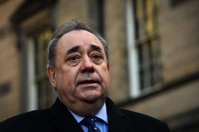 Former first minister Alex Salmond. Picture: Andy Buchanan/AFP via Getty Images