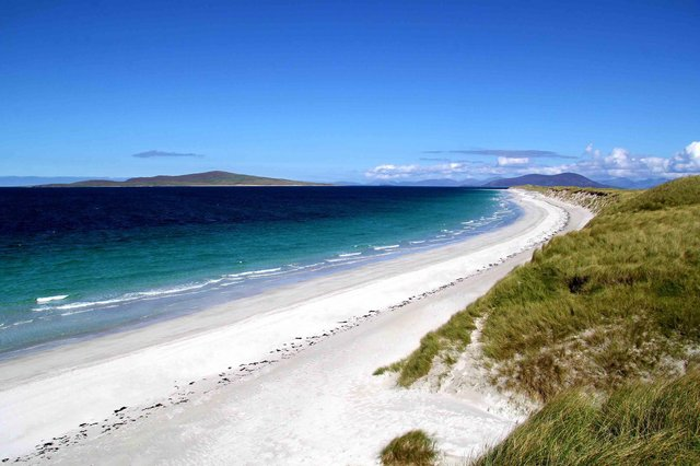This beautiful Scottish beach was the cause of an international incident in 2009 which left another country red-faced. why? Read on to find out more.