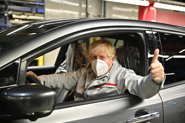 Prime Minister Boris Johnson made the travel comments during his visit to Nissan plant in Sunderland.