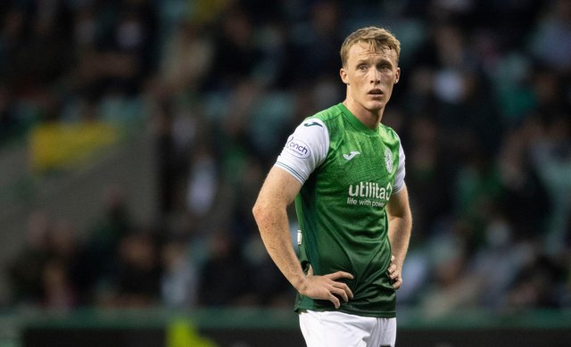 Jake Doyle-Hayes has impressed already at Hibs. (Photo by Craig Foy / SNS Group)