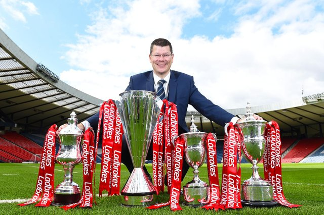 Neil Doncaster has ruled out voiding the Scottish Premiership season. Picture: SNS